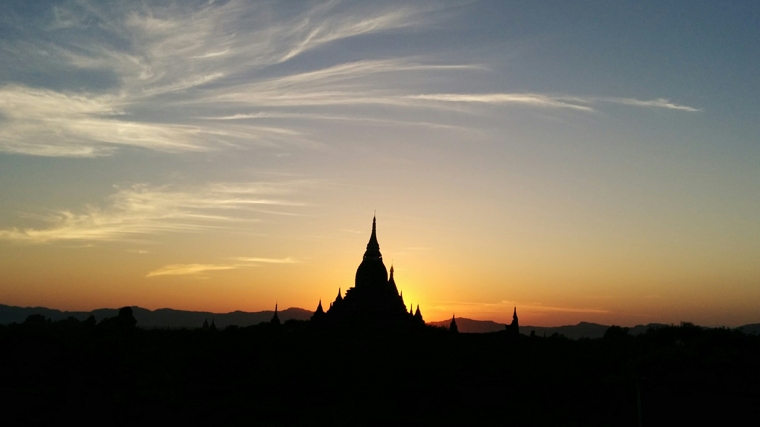 Sonnenuntergang // Bagan, Myanmar (Burma)