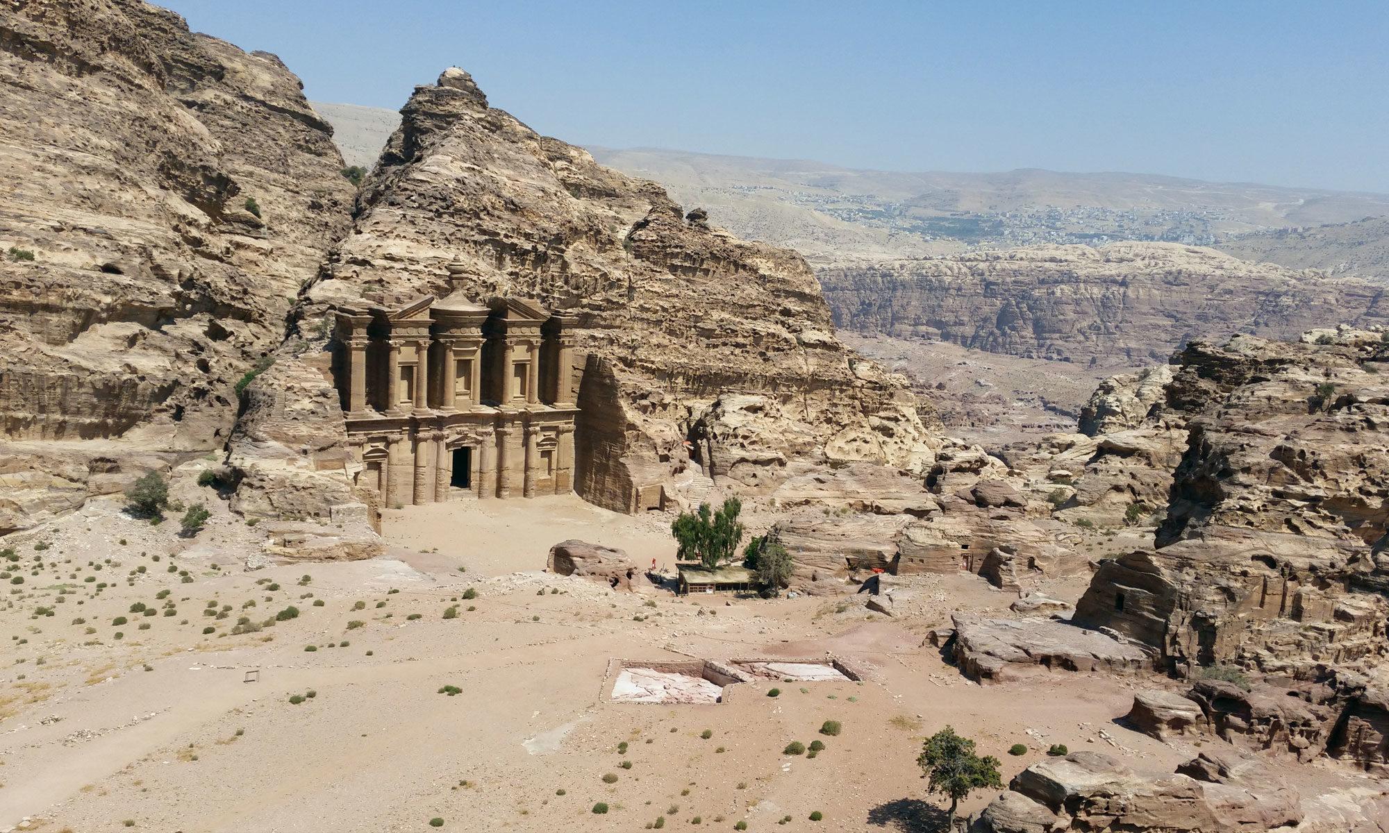 Klosteranlage // Petra, Jordanien